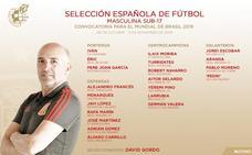 Valencia y Villarreal aportan cuatro jugadores a la selección en el Mundial sub-17