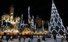El Ayuntamiento de Valencia gastará 121.000 euros en la iluminación de Navidad de este año