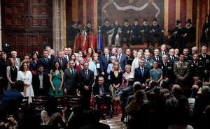 À Punt se justifica por cortar el himno de España en el 9 d'Octubre
