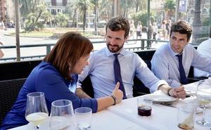 Génova cierra heridas con el PP valenciano