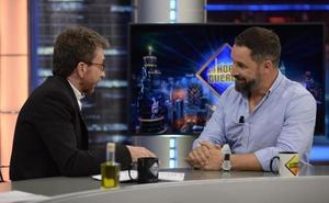 Santiago Abascal encumbra a 'El Hormiguero'