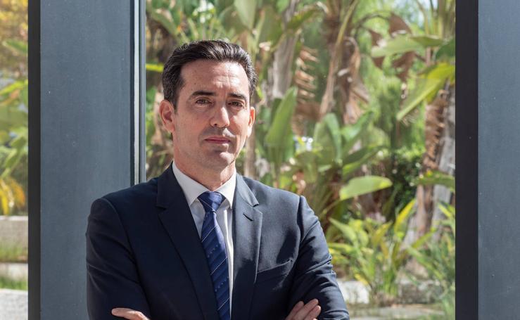 Paco Segura, presidente de la falla Convento Jerusalén