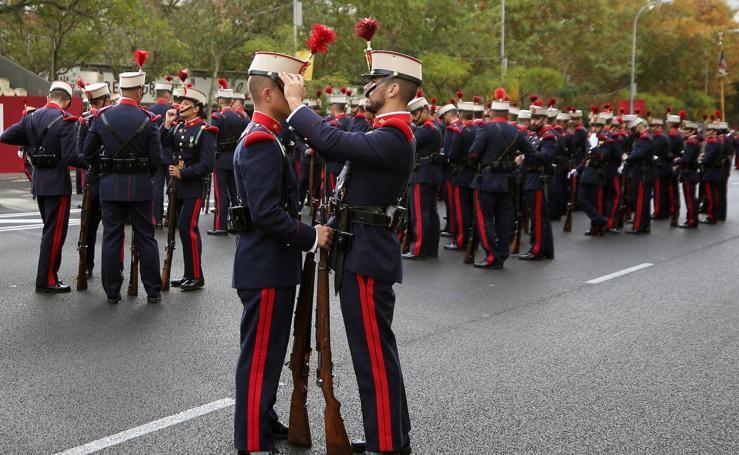 Desfile militar de la Fiesta Nacional de 2019