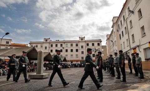 La Guardia Civil celebra su día grande en Valencia