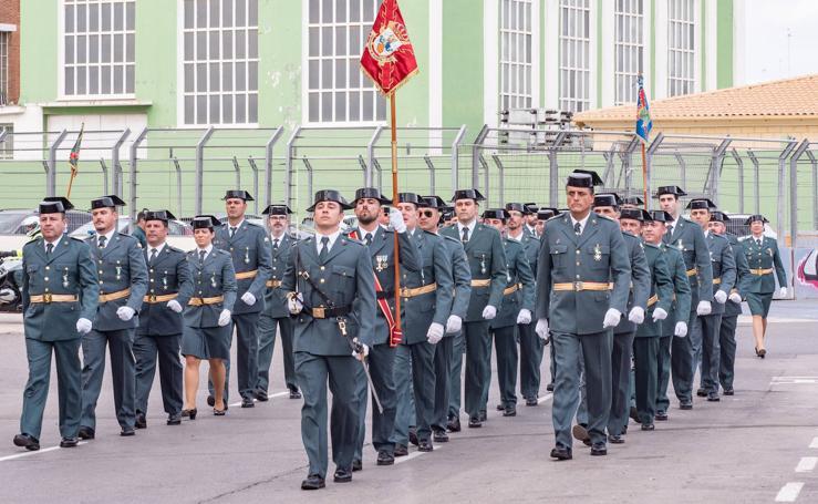 La Guardia Civil homenajea a su patrona en Valencia