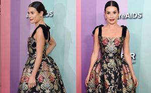 La moda fallera se luce entre los famosos en Los Ángeles