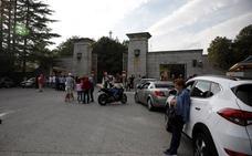 Escenas de tensión en el Valle de los Caídos