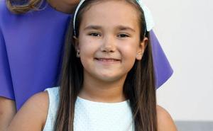 Carla López Grande, corte de honor infantil 2020: «Estaba en una nube la noche de la Fonteta»