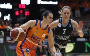 El Valencia Basket saca otra vez el rodillo en la Fonteta