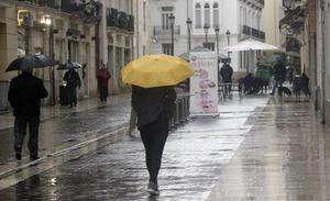 La semana empieza con precipitaciones en varias comarcas de la Comunitat