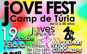 La localidad acogerá el Jove Fest el sábado 19 de octubre