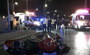 Un peatón fallece en Calp al ser atropellado por una moto en la N-332