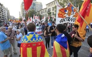 Convocadas manifestaciones contra la sentencia del 'procés' en Alicante, Valencia, Castellón y Gandia