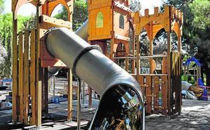 El Parque de l'Eixereta contará con un nuevo juego en forma de castillo