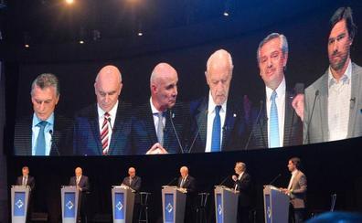 Fernández acusa a Macri de «mentir» en el primer debate electoral en Argentina