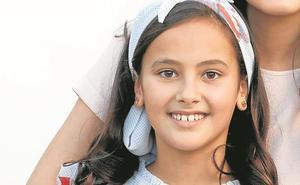 Natalia Vilanova, corte de honor infantil 2020: «Espero el momento de ponerme la banda»