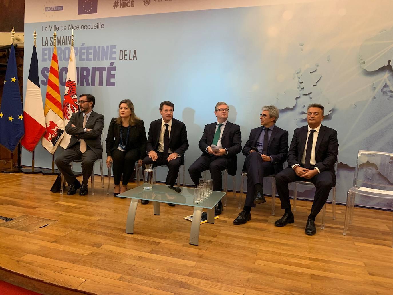Xàbia participa en el debate europeo sobre los retos en materia de seguridad
