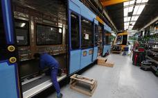 La planta de Stadler en Albuixech gana un pedido de 165 millones por 34 locomotoras para Taiwan