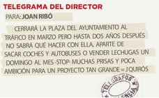 Telegrama para Joan Ribó