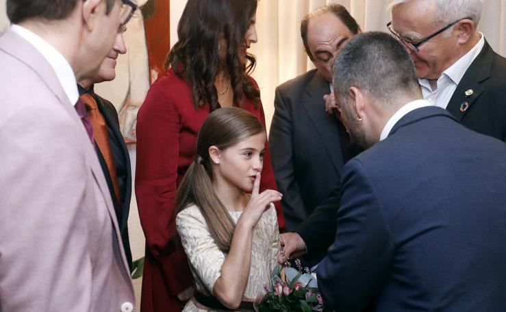 Las fotos de la fallera mayor infantil de Valencia 2020, Carla García