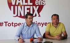 Rodríguez reivindica a La Vall ens Uneix como la única voz de la comarca