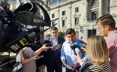 Giner cuestiona si Grezzi podría haber evitado la pérdida de casi dos millones de euros en la estafa de la EMT