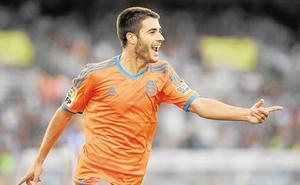 El canterano del Valencia CF Carles Gil, fichaje del año en la liga de EE UU