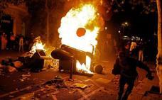 Baja el nivel de violencia en Barcelona