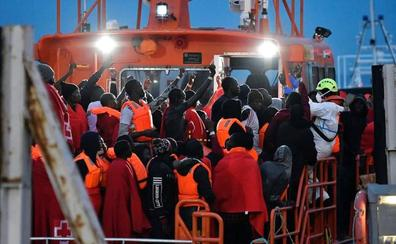 Aumenta la llegada de inmigrantes ilegales a España en septiembre