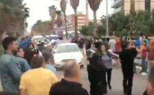 Un guardia civil de paisano impide una paliza a una agente de los Mossos