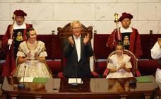 Proclamación de las falleras mayores de Valencia 2020
