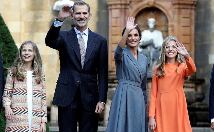 La familia real, preparada para los Premios Princesa de Asturias