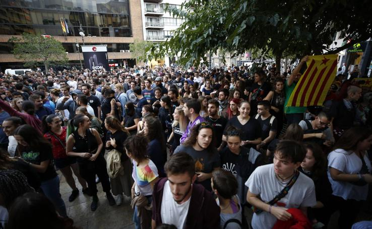 Manifestación independentista en Valencia