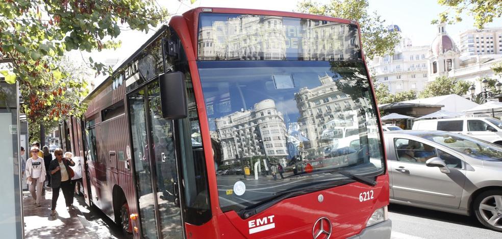 La línea de transbordo a la plaza del Ayuntamiento llevará 2.500 usuarios en hora punta