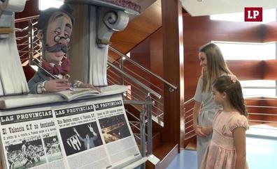 Las falleras mayores de Valencia 2020 visitan LAS PROVINCIAS