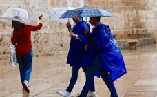 DANA: Aemet anuncia lluvias intensas en la Comunitat, que podrían llegar a ser torrenciales