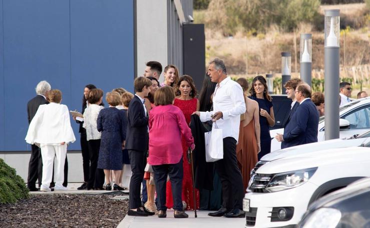 Reyes y tenistas en la boda de Rafa Nadal y Mery Perelló