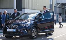 El Rey visita la factoría  de Renault en Valladolid