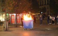 Cargas en Madrid tras un protesta por la «amnistía de todos los presos políticos»