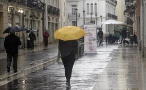 La lluvia, el viento y el frío llegan este domingo a Valencia como anticipo de la DANA