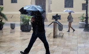 La nueva DANA que llega este lunes a la Comunitat dejará precipitaciones de hasta 200 litros