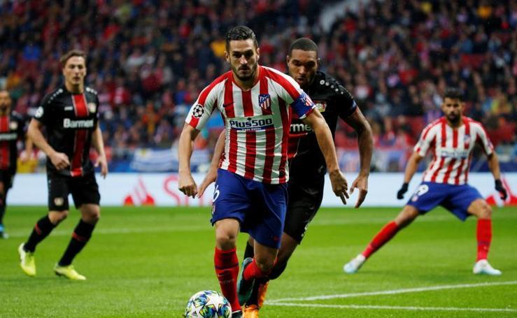 Las mejores imágenes del Atlético-Bayer Leverkusen