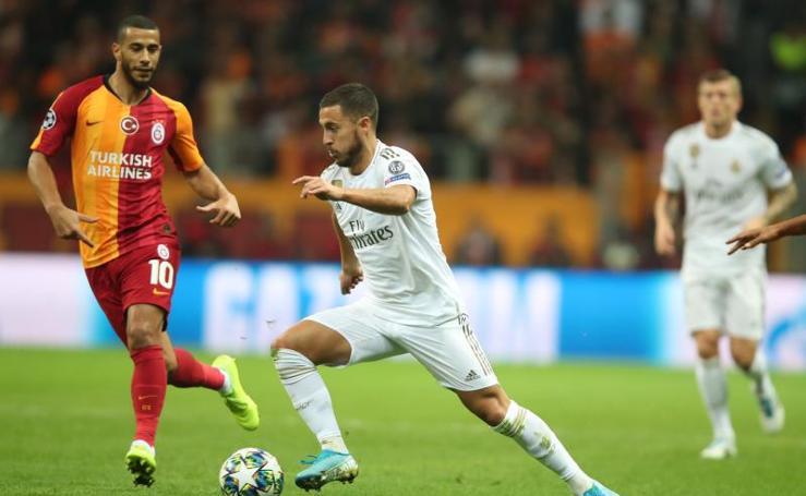 Las mejores imágenes del Galatasaray-Real Madrid