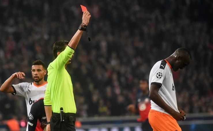 Las mejores fotos del Lille-Valencia de la Champions League