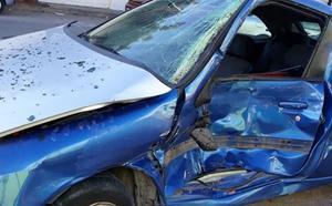 Un conductor novel da positivo en cannabis tras estrellarse con su coche en Puçol