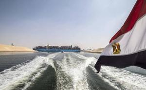 El Canal de Suez celebra sus 150 años con discretos festejos