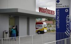 Un trabajador cae desde varios metros de altura en una empresa en Daimús