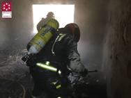 Muere una persona en un incendio en Almassora
