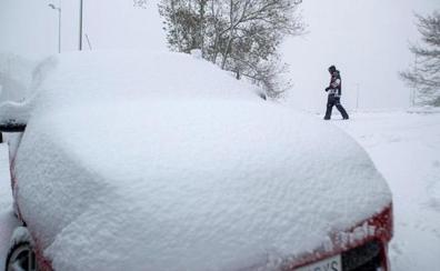 Carreteras cortadas por la nieve y el hielo en España hoy 14 de noviembre