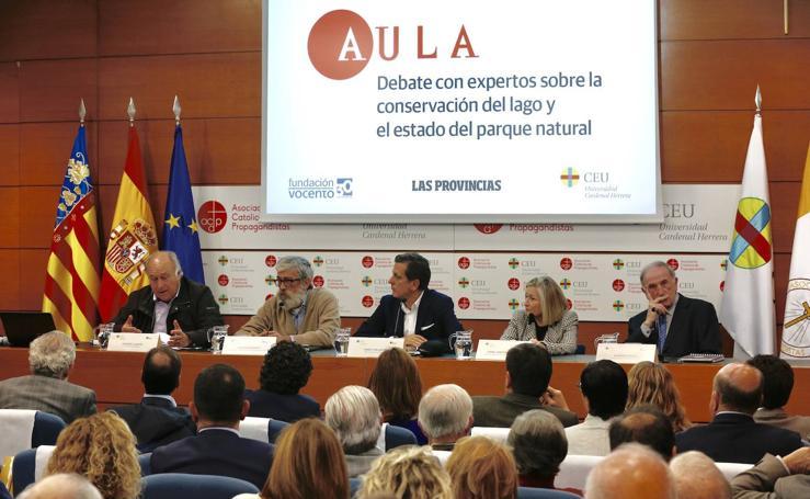 Así ha sido el debate de Aula LAS PROVINCIAS en defensa de la Albufera